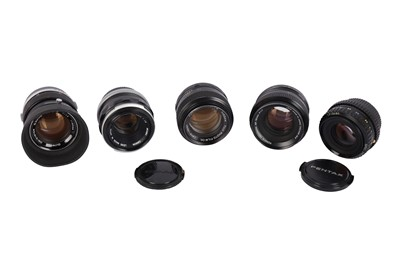 Lot 474-A Selection of Fast 50mm Lenses