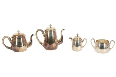 Lot 16 - A WMF TEA AND COFFEE SET, EARLY 20TH CENTURY