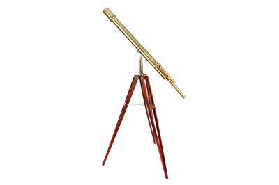 """Lot 412-The """"Elliott"""" Broadhurst Clarkson & Fuller Presentation Telescope"""