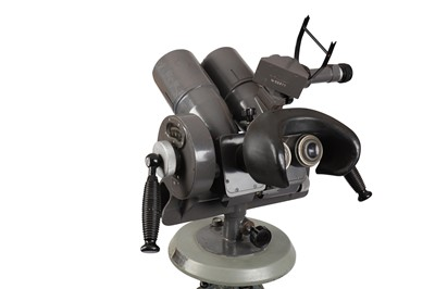 Lot 404-A pair of Czech TZK 10 x 80 Military Observation Binoculars