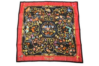 Lot 1274-Hermes 'Pierres d'Orient et d'Occident' Silk Scarf