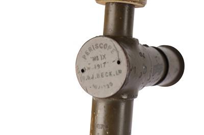 Lot 401 - A R & J Beck Mk IX World War I Trench Periscope