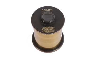 "Lot 406 - A Broadhurst Clarkson Co. ""Comet"" Brass Telescope Eyepiece"