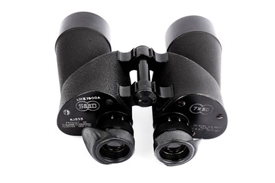 Lot 407-A Pair of WWII SARD SQUARE D 7X50 MARK 21 US Navy Binoculars