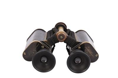 Lot 403 - Sir John Hubert Plunkett Murray's Pair of Carl Zeiss Jena Feldstecher Verge 8 Binoculars 1900