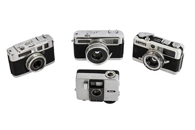 Lot 469-A Group of Half Frame Cameras