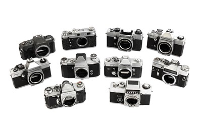 Lot 466-A Group of 35mm Camera Bodies