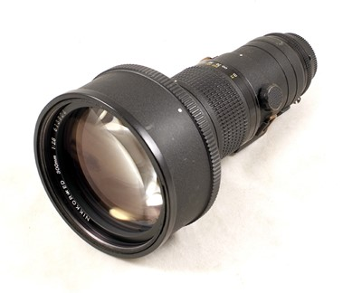 Lot 447 - Nikkor ED 300mm f2.8 Ai-s Lens (Needs Slight Attention) & x1.4 Converter