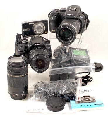Lot 484-Canon EOS 400D & Other Digital Equipment.