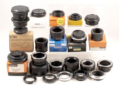 Lot 430 - A Selection of Nex & Other Lens Mount Adapters.