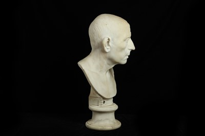 Lot 3 - AFTER THE ANTIQUE: A 19TH CENTURY ITALIAN MARBLE BUST OF GALBA CAESAR