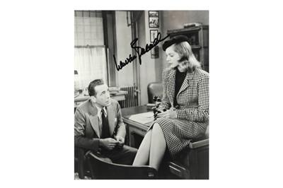 Lot 1044 - Bacall (Lauren)