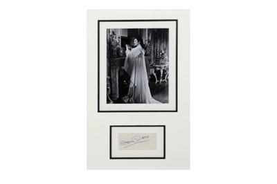 Lot 1023 - Autograph Collection.- Actors & Actresses