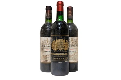 Lot 72 - A trio of Bordeaux