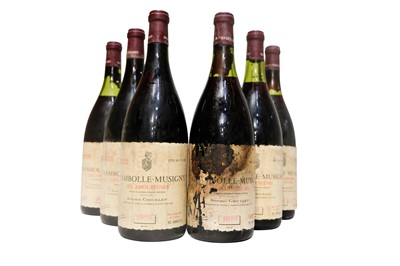Lot 96 - Magnums of Paul Grivelet Chambolle Musigny Les Amoureuses 1976