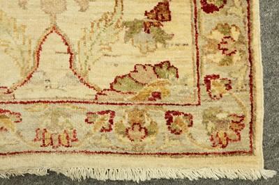 Lot 18 - A NORTH-WEST PERSIAN RUNNER OF ZIEGLER DESIGN