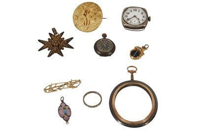 Lot 48 - A COLLECTION OF JEWELLERY, COSTUME JEWELLERY AND WATCHES