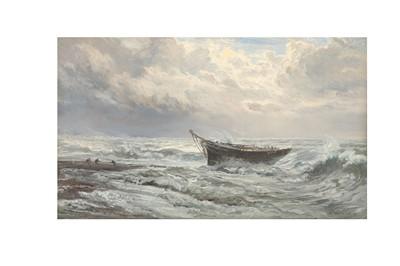 Lot 378 - HENRY MOORE (BRITISH 1831-1895)