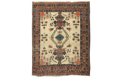 Lot 78 - AN ANTIQUE AFSHAR RUG, SOUTH-WEST PERSIA