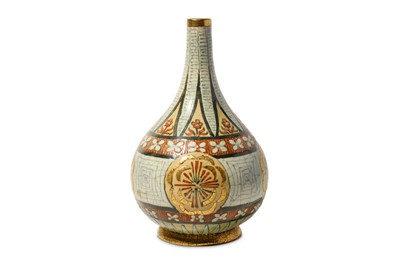 Lot 2 - ANDRE METTHEY (FRENCH 1871 - 1920) A CERAMIC BOTTLE VASE CIRCA 1910