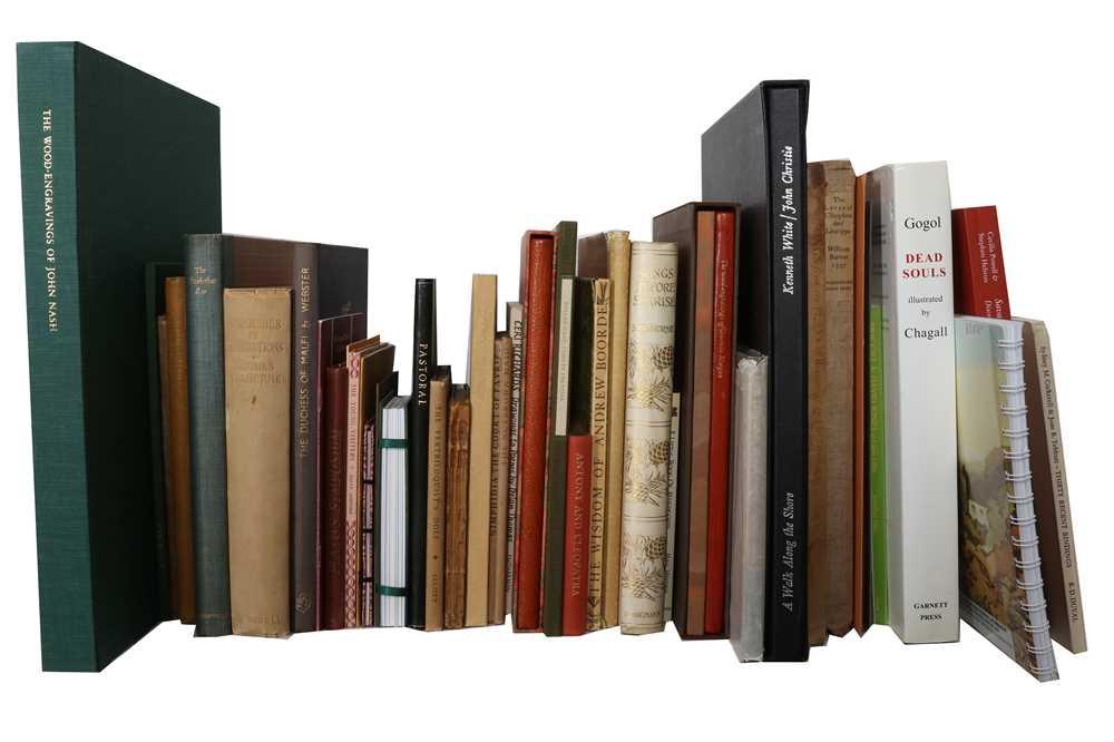 Lot 396 - Private Press Books and Ephemera.