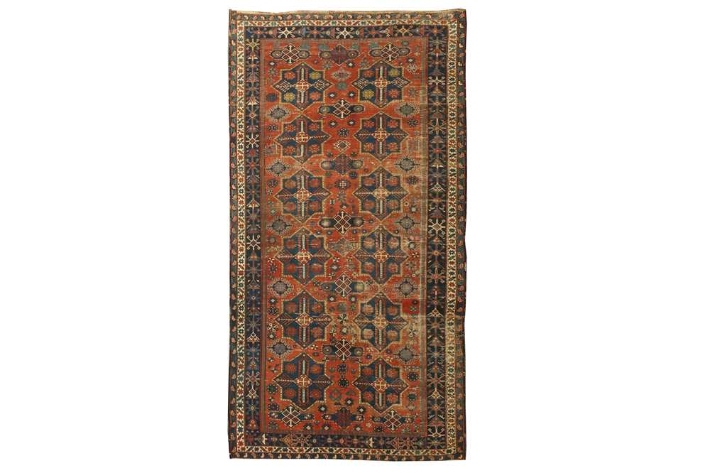 Lot 43 - AN ANTIQUE KUBA-SHIRVAN KELLEH, EAST CAUCASUS