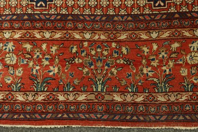 Lot 42 - A FINE KASHAN RUG, CENTRAL PERSIA
