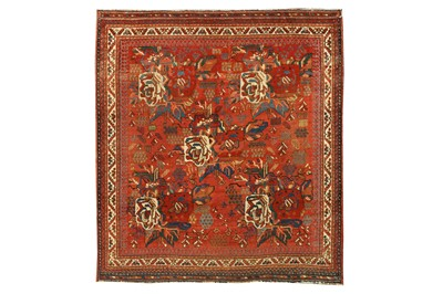 Lot 94 - AN ANTIQUE AFSHAR RUG, SOUTH-WEST PERSIA