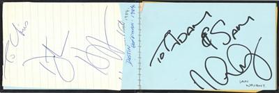 Lot 1422 - Autograph Album.- Miscellaneous
