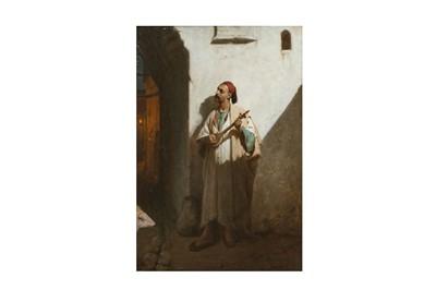 Lot 373 - JEAN RAYMOND HIPPOLYTE LAZERGES (FRENCH 1817-1887)