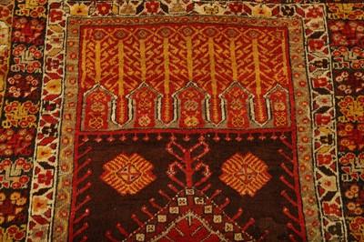 Lot 25 - AN ANTIQUE KONYA PRAYER RUG, TURKEY