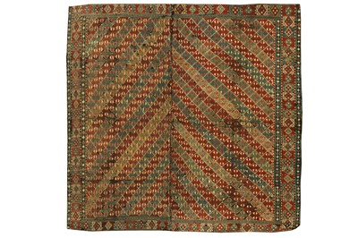 Lot 84 - AN ANTIQUE VERNEH, NORTH-WEST PERSIA