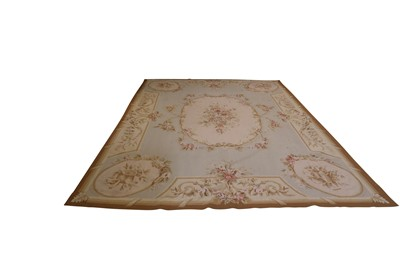 Lot 90 - THE RUG COMPANY, AN AUBUSSON STYLE WOVEN CARPET, LATE 20TH CENTURY