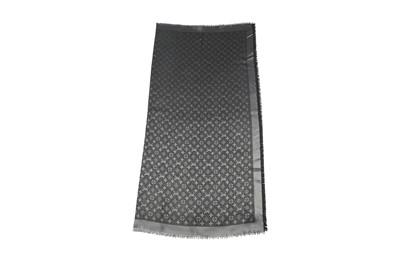 Lot 84 - Louis Vuitton Black Denim Monogram Scarf