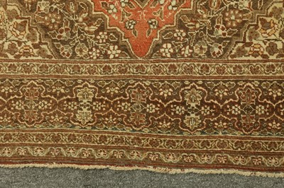 Lot 30 - AN ANTIQUE TABRIZ RUG, NORTH-WEST PERSIA