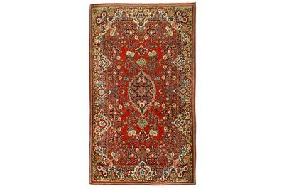 Lot 69 - A FINE KASHAN RUG, CENTRAL PERSIA
