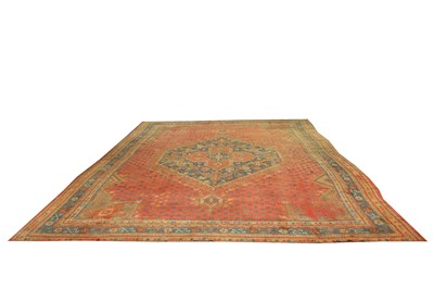 Lot 29 - AN ANTIQUE USHAK CARPET, TURKEY