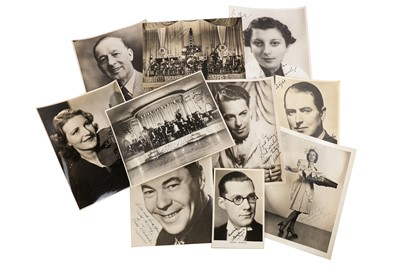 Lot 1454 - Photograph Collection.- Jazz Singers & Music Hall Stars
