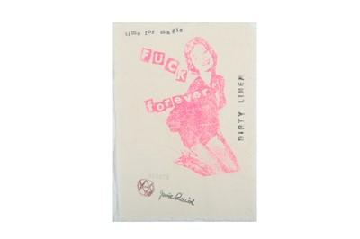 Lot 387 - JAMIE REID (BRITISH B. 1947)