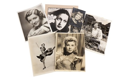 Lot 1450 - Photograph Collection.- Actresses