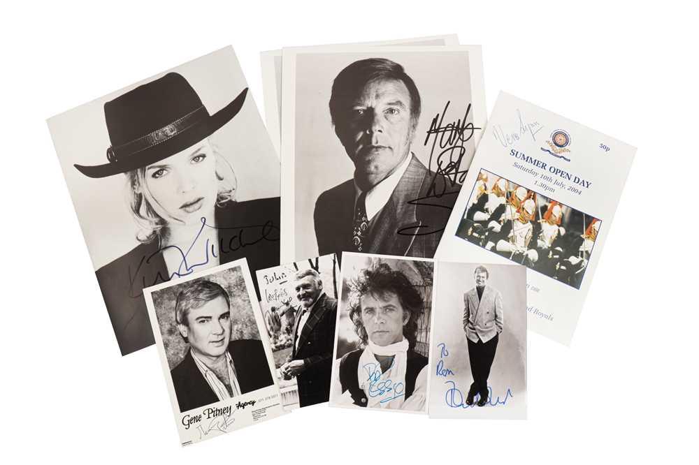 Lot 1427 - Autograph Collection.- Actors & Entertainers