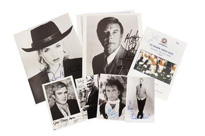 Lot 1427 - Autograph Collection.- Actors & Entertainers