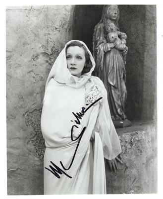 Lot 1492 - Dietrich (Marlene)