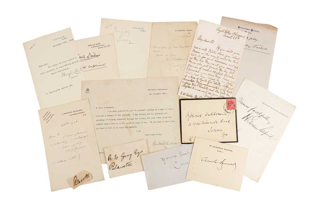 Lot 1432 - Autograph Collection.- Miscellaneous