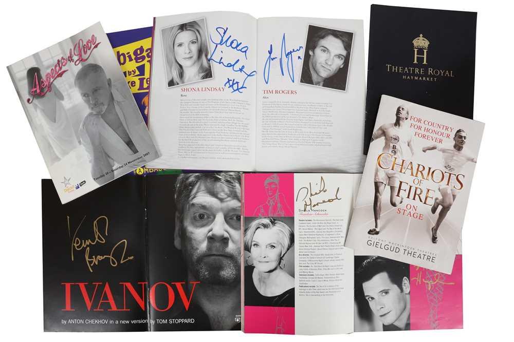 Lot 1437 - Autograph Collection.- Theatre Interest