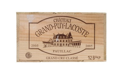 Lot 520 - Chateau Grand-Puy-Lacoste 2005