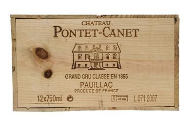 Lot 55 - Chateau Pontet-Canet 2007
