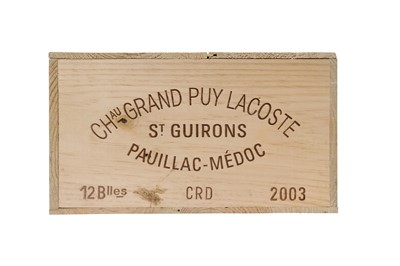 Lot 46 - Chateau Grand-Puy-Lacoste 2003