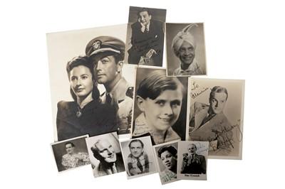 Lot 1448 - Photograph Collection.- Actors & Entertainers