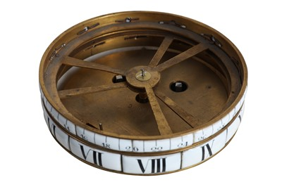 Lot 87 - A FINE LATE 19TH CENTURY FRENCH WHITE MARBLE CERCLES TOURNANTS CLOCK AFTER FALCONET